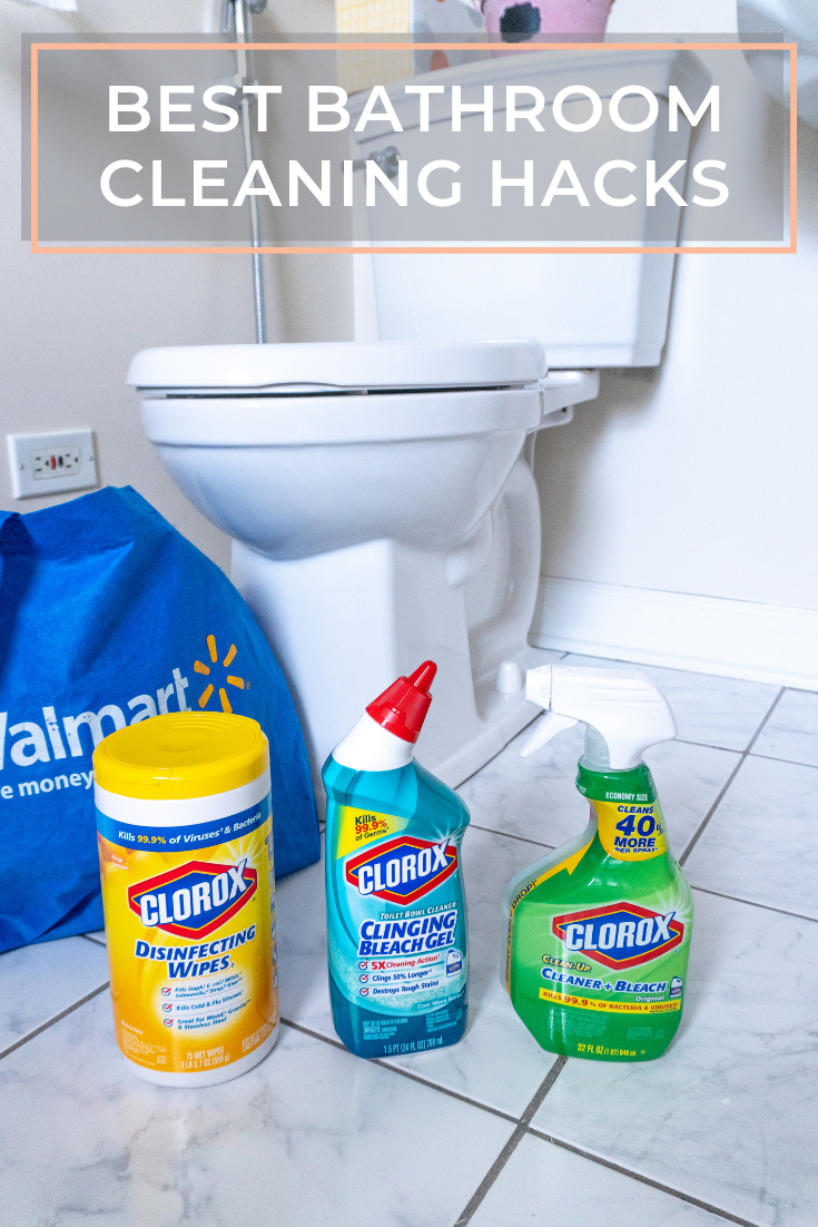 10 best bathroom cleaning hacks