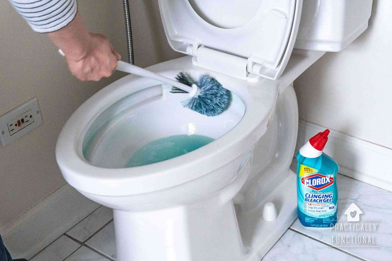 The best toilet bowl cleaner for spring cleaning