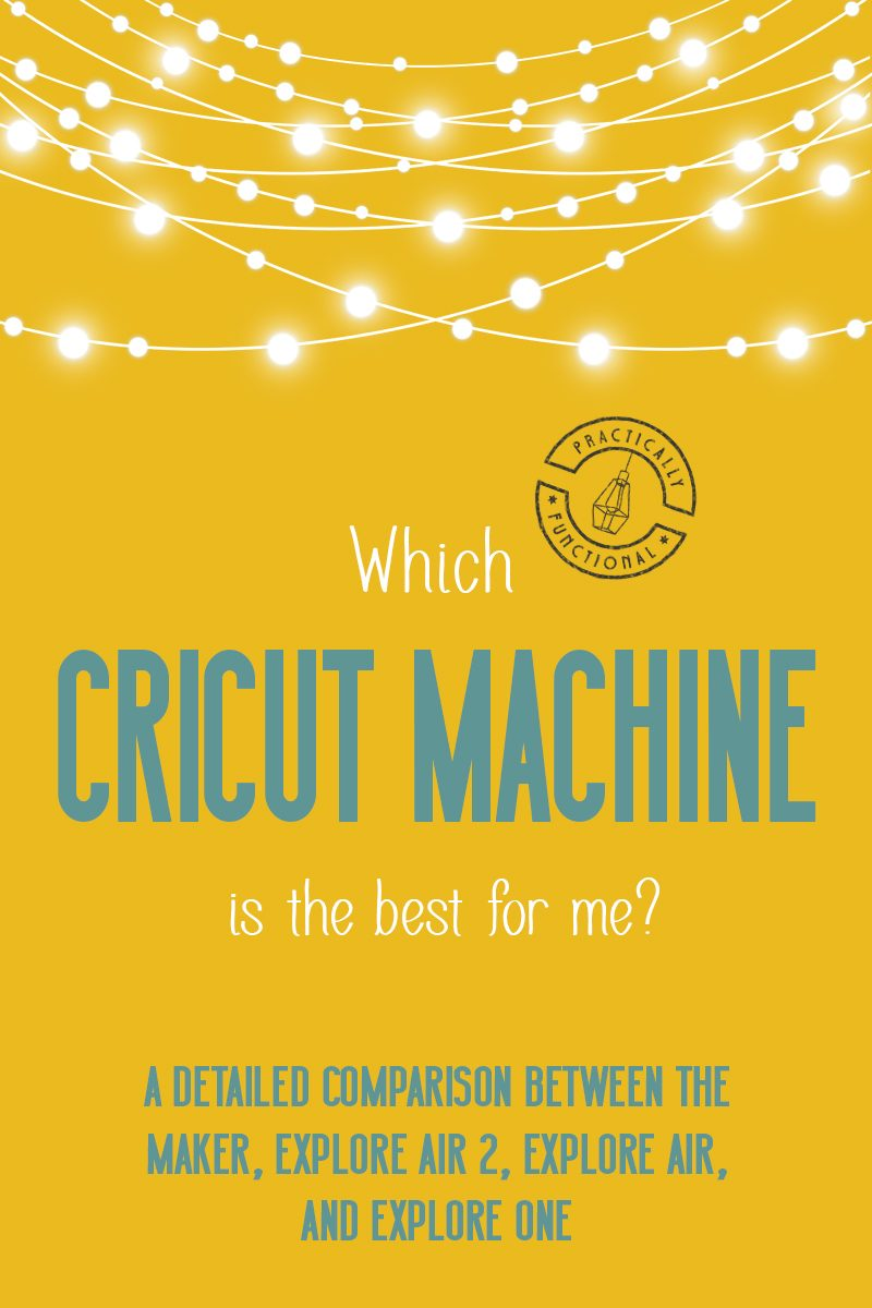 Which cricut machine is best for me