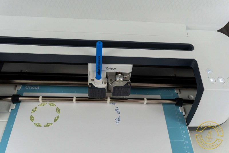 Cricut maker drawing with cricut infusible ink pens and markers