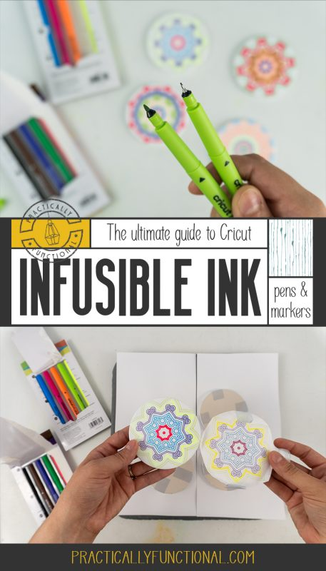 Everything you need to know about how to use cricut infusible ink pens and markers