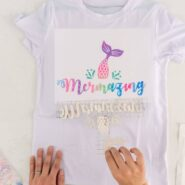 Cricut infusible ink transfer sheets after transferring ink onto a t shirt