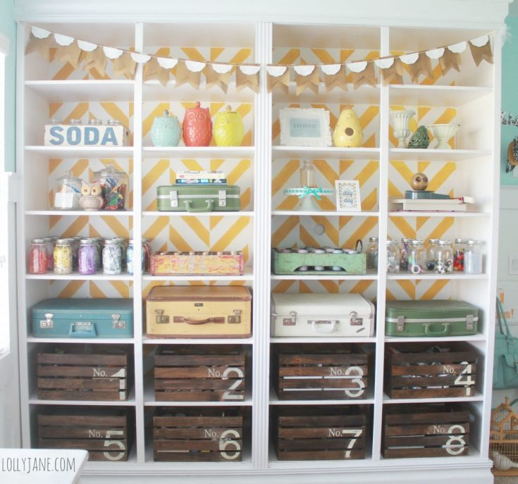 Pick a few types of storage containers and use those for everything