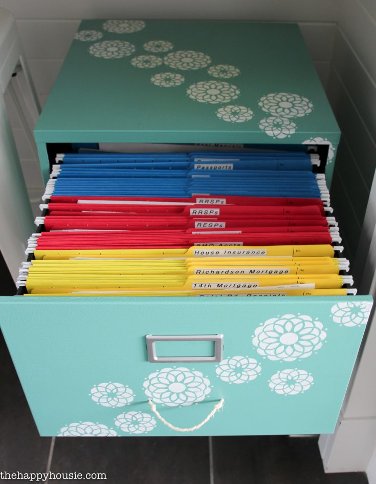 Color code your paperwork