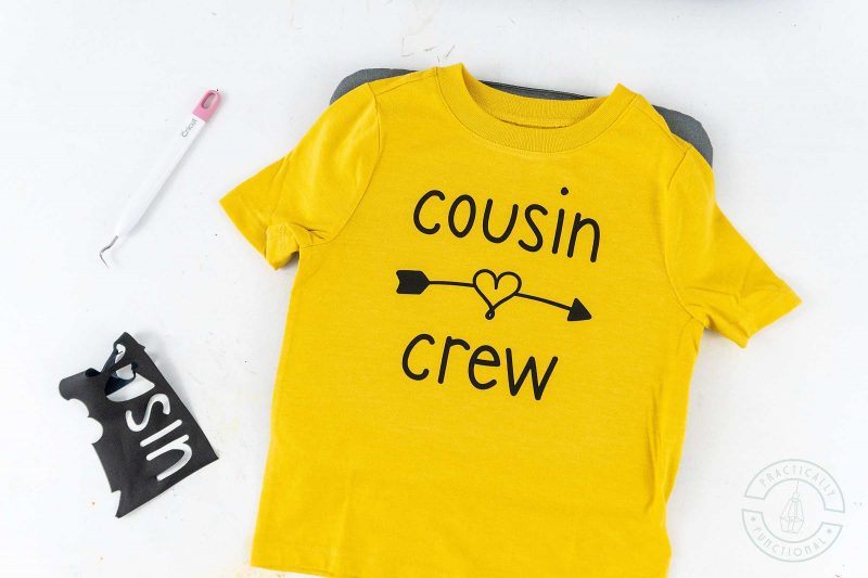 How to use heat transfer vinyl with a cricut cutting machine