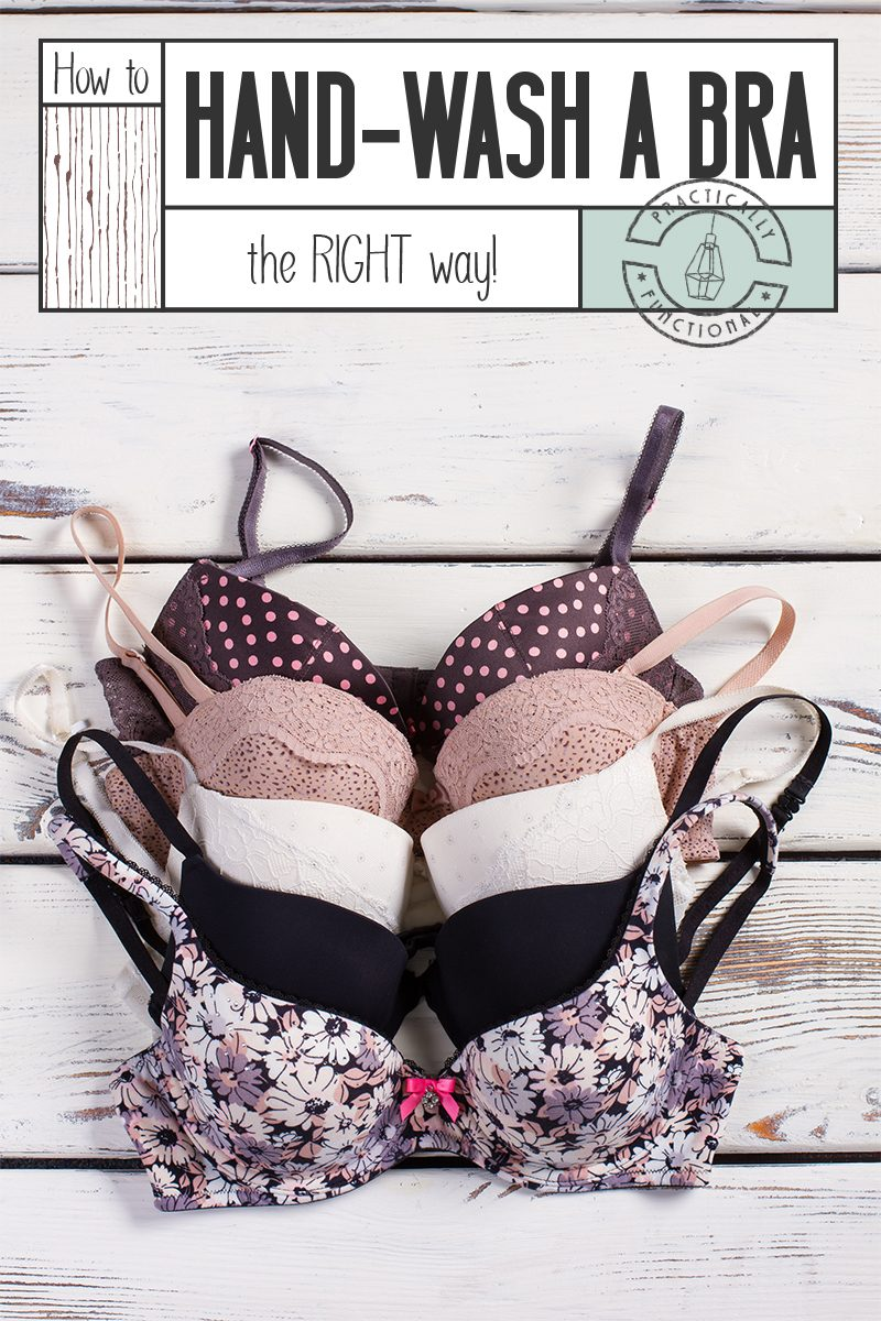 Learn how to hand wash a bra correctly 1