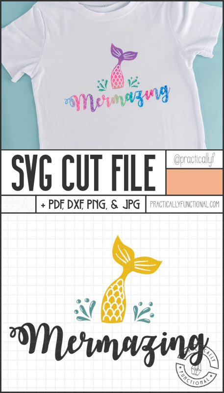 Mermazing svg cut file bundle for cricut and silhouette