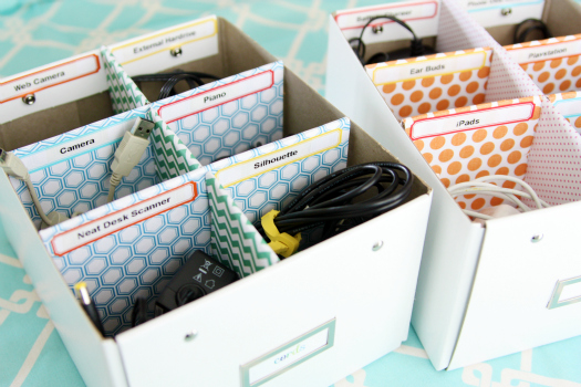 Get your cords organized