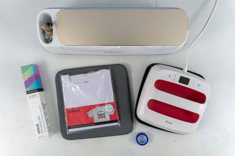 Supplies you need for using cricut infusible ink transfer sheets