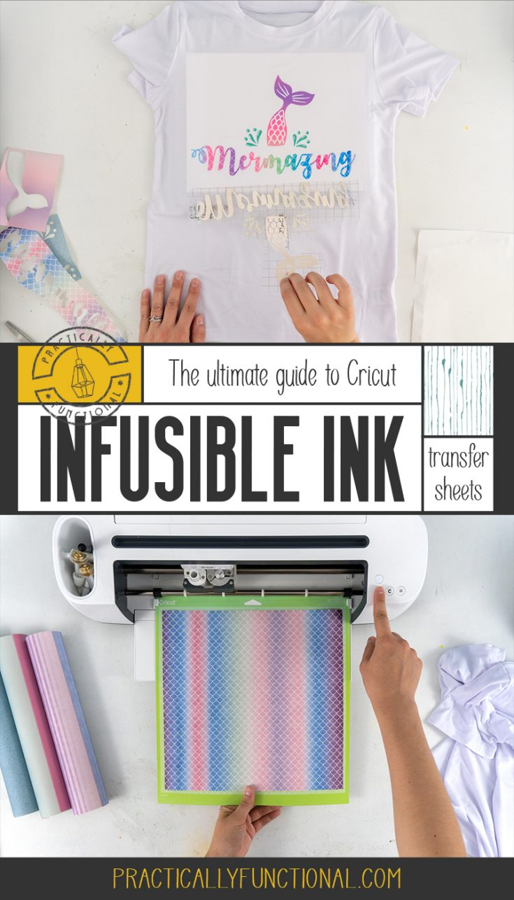 Excited about Cricut's new Infusible Ink products? This article has everything you need to know about using Cricut Infusible Ink transfer sheets!