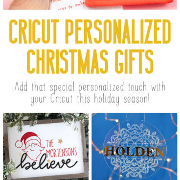 25 cricut personalized gifts for christmas pin