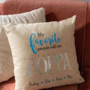 How to make my favorite people call me poppa personalized grandparents gift with a cricut maker