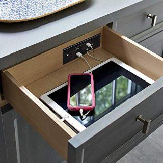 Diy kitchen charging drawer