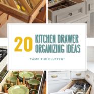 How to organize kitchen drawers 20 ideas