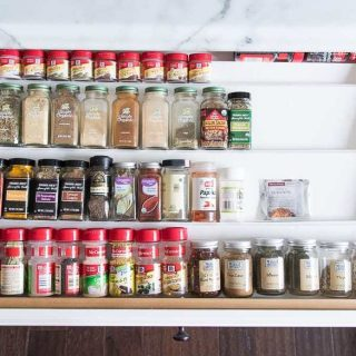 How to organize spices in a kitchen drawer with diy drawer organizer insert