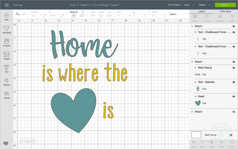How to lock the image position on the mat in cricut design space