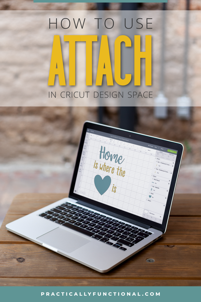 How to use attach in cricut design space 1