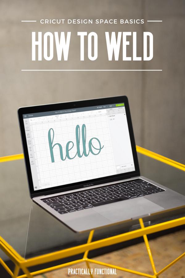 How To Weld In Cricut Design Space || Cricut Design Space ...