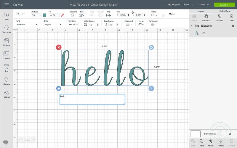 How to weld in cricut design space how to weld letters