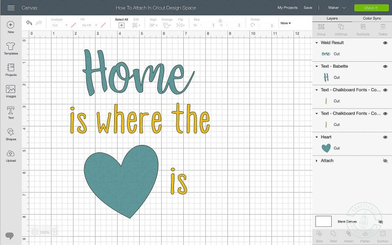 Learn how to lock the image position on the mat in cricut design space