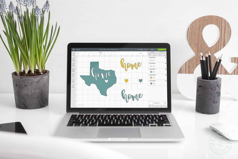 Learn how to slice in cricut design space