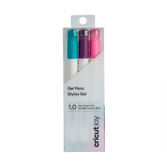 2007091 joy gel pens 1mm teal purple pink