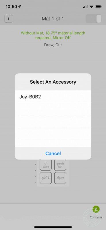 Cricut joy pantry labels connect to your cricut joy