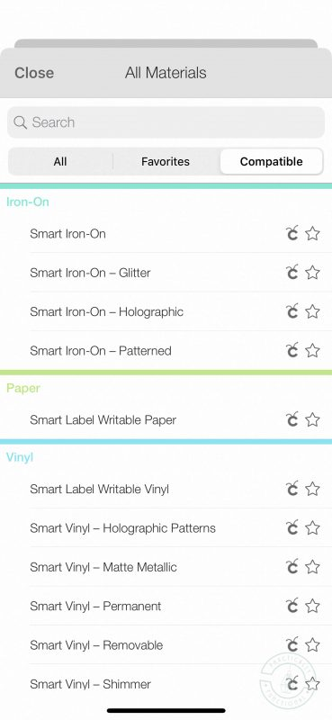 Cricut joy personalized storage bins select smart vinyl holographic patterns