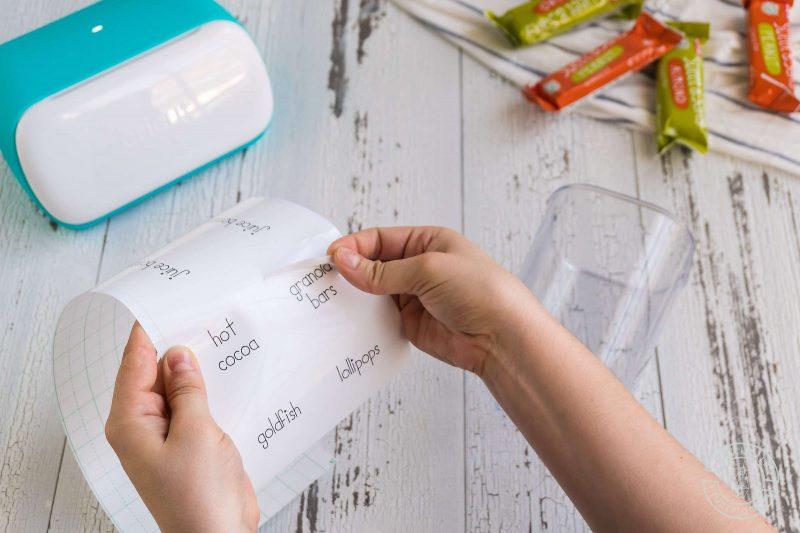 Free cricut joy pantry labels peel up smart label vinyl