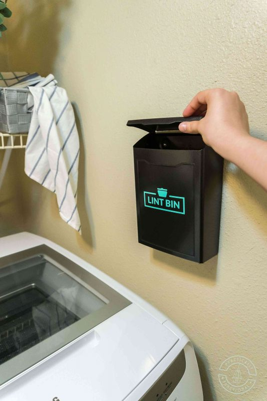 Make a lint holder for your small laundry room with cricut joy