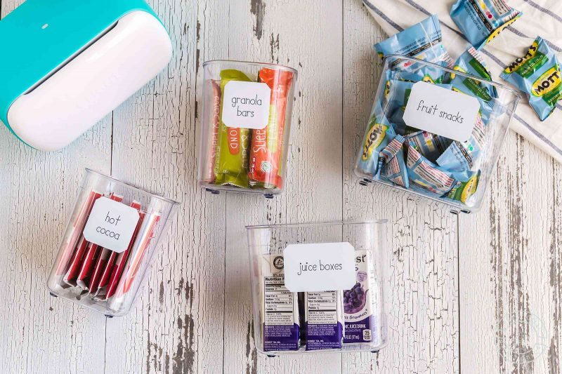 Make your own free pantry labels with a cricut joy and smart label writable vinyl