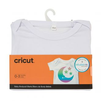 Infusible ink baby bodysuits from cricut