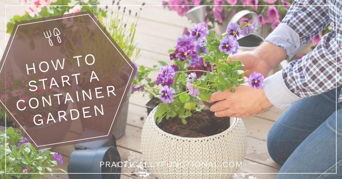 Easy Container Gardening On Any Patio, How To Start Container Gardening