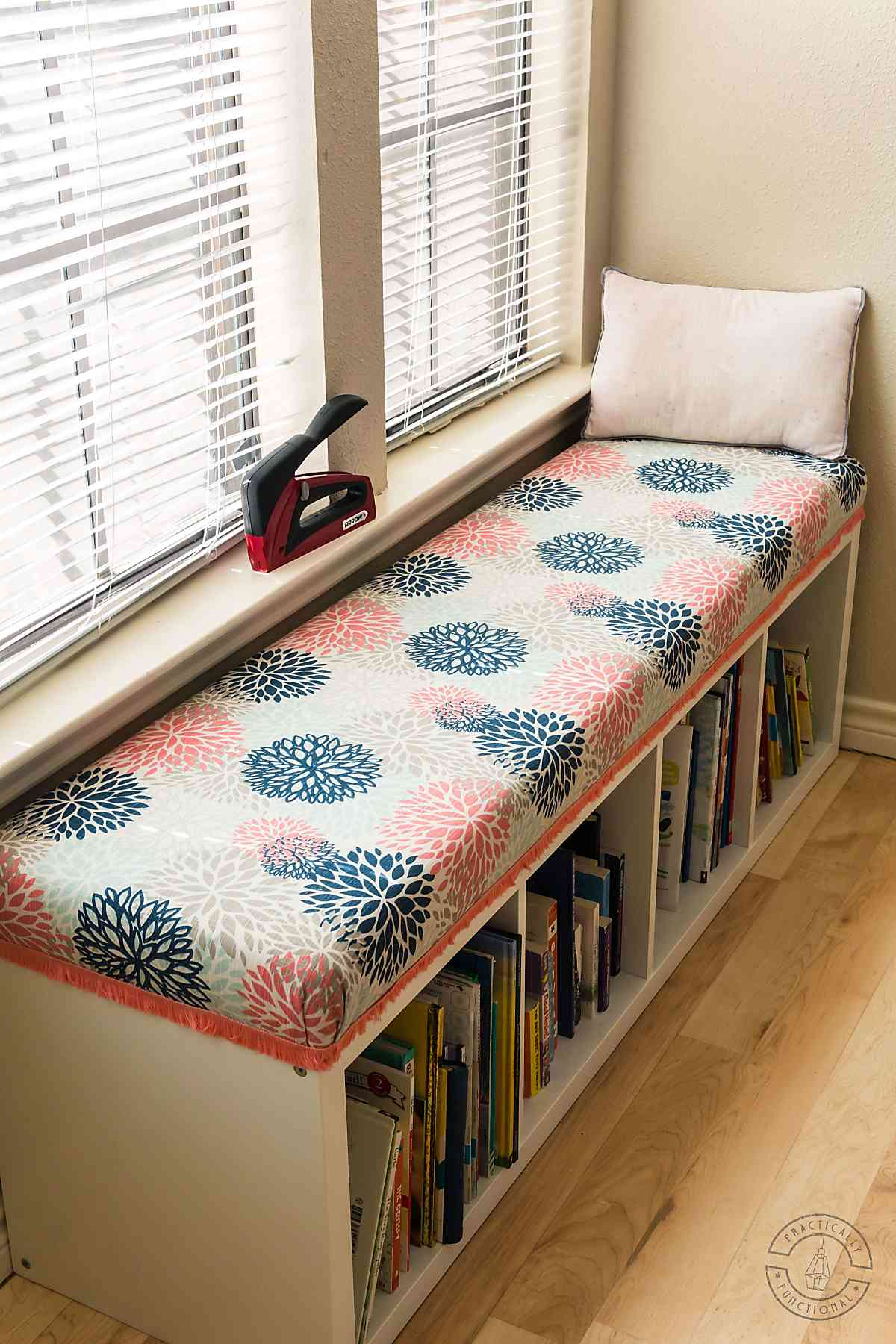 Diy Bench Seat Cushion Upholster A Cushion Without Sewing